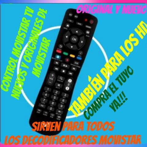 Control Movistar Tv Original Y Nuevo