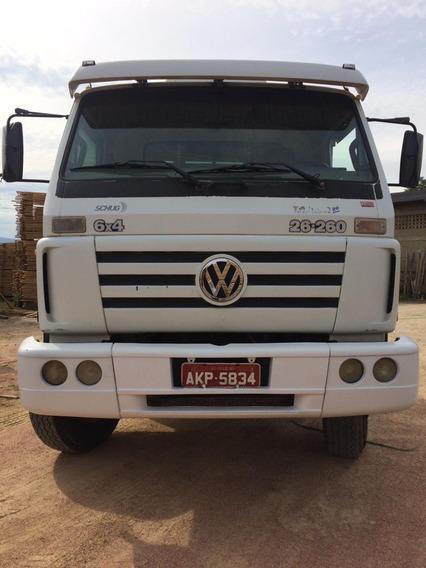 Caminhão Vw 26.260 - 2002 - Transporte De Toras
