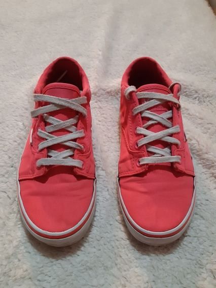 Zapatillas Vans Mujer Rosas Importada Us4 35