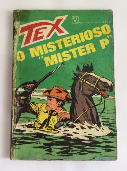 Tex Nº 24 - 1ª Edição - O Misterioso Mister P - Frete Grátis