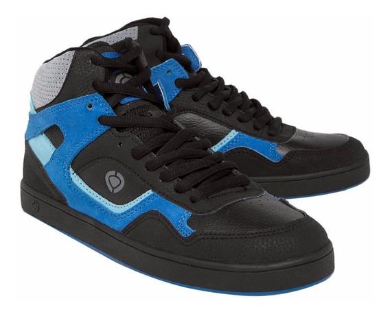 Tênis Circa Link Black Blue Skate Ponta De Estoque 100% Original Pronta Entrega
