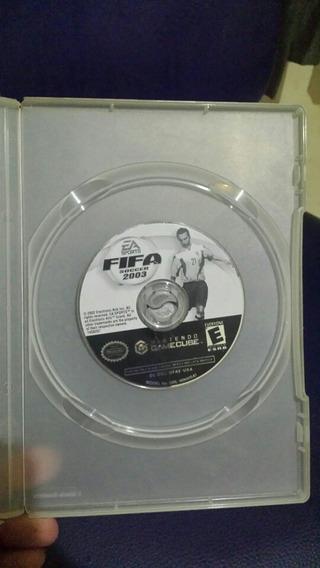 Game Cube Jogo: Fifa 2003 Rodando Perfeitamente.