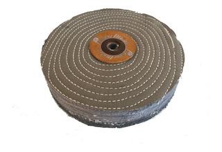 Paño Disco Cosido Para Pulir Metales 8 X 4cm. Profesional