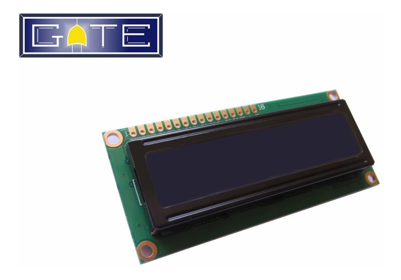 Display Lcd 16x2 Para Arduino Pic Atmel Backlight Azul Hd447