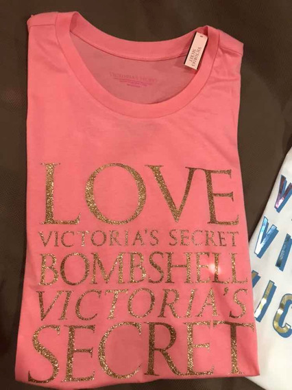 Remera Victoria Secret Mujer Original