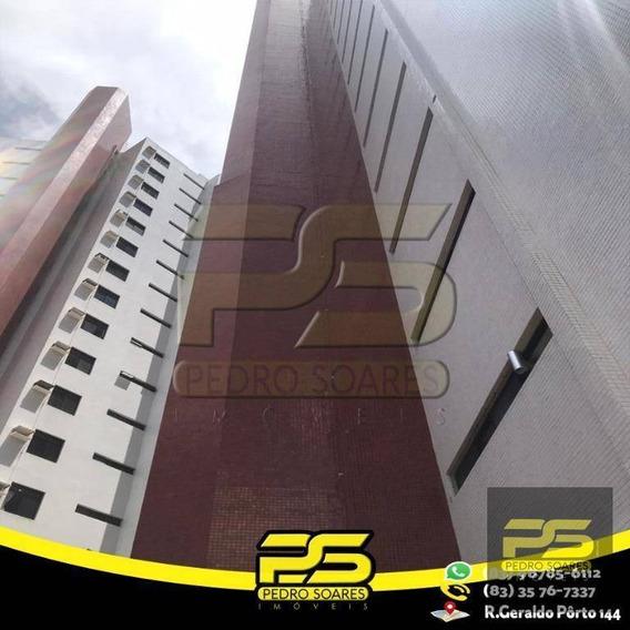 Cobertura Com 4 Dormitórios Para Alugar, 480 M² Por R$ 5.000,00/mês - Bessa - João Pessoa/pb - Co0045