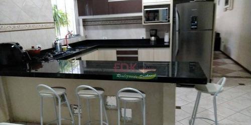 Imagem 1 de 11 de Sobrado Com 4 Dormitórios À Venda, 128 M² Por R$ 530.000 - Jardim Terras Do Sul - São José Dos Campos/sp - So2251