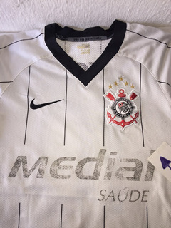 Camisa Do Corinthians Nike Medial 10 Branca G Feminina