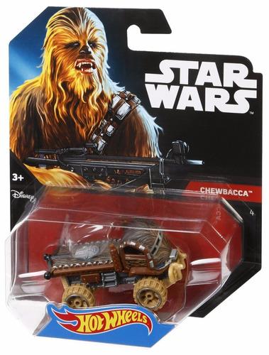 Imagen 1 de 1 de Hot Wheels Chewbacca  Star Wars  A1733