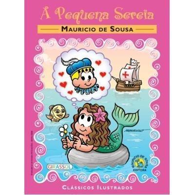 Livro: A Pequena Sereia - Maurício De Souza