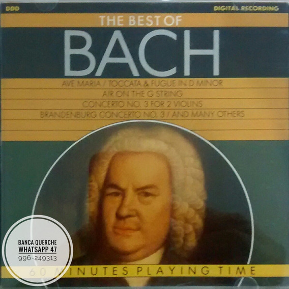 Cd The Best Bach