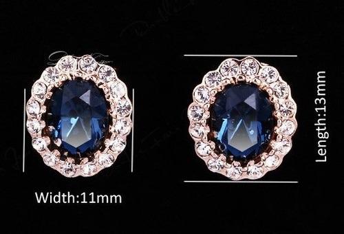 Aretes Modelos Con Swarovski Crystals Con Estuche En Stock