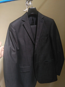 Traje Marca Mossimo Negro-purpura Casual Completo