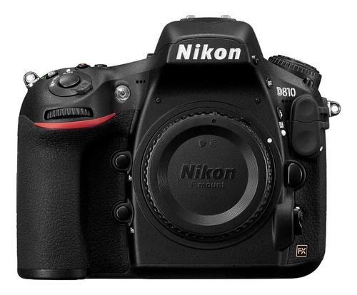 Nikon D810 DSLR color negro