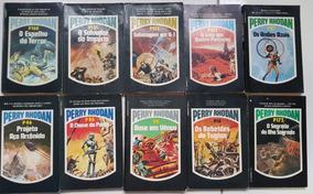 Super Lote De Livros Perry Rhodan Ediouro 2 Antigos Dec. 80