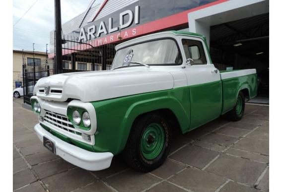 Ford F100 1969 Motor V8 Caixa 4 Marcha Em Baixo Direção Hidr
