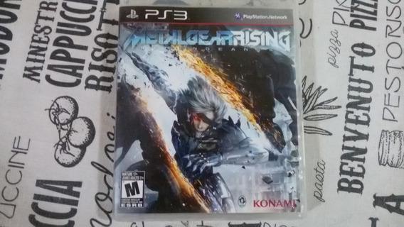 Jogo Ps3 Metal Gear Rising Mídia Física Ótimo Estado