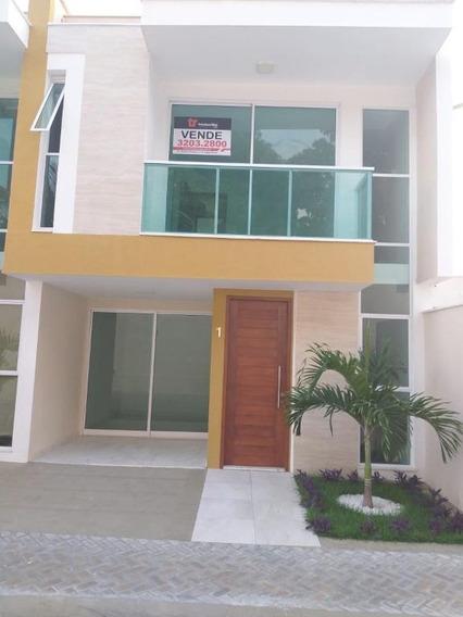 Casa Com 4 Dormitórios À Venda, 107 M² Por R$ 480.000 - Capim Macio - Natal/rn - Ca7337