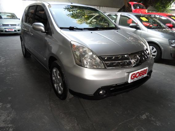 Nissan / Livina Sl 1.6 16v 2010 Prata