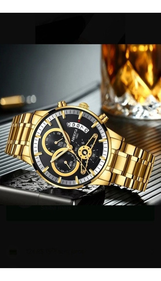 Relógio Nibosi Super Luxo, Prova D