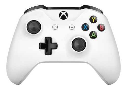 Joystick inalámbrico Microsoft Xbox Mando inalámbrico Xbox One white