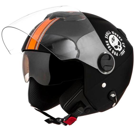 Capacete New Atomic Skull Riders - Pro Tork *