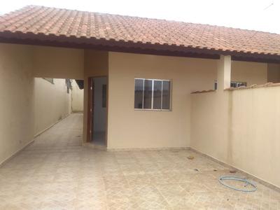 Casa Nova Em Mongaguá Com Apenas 50 Mil De Entrada!
