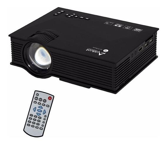 Projetor Audisat Au46 Wi Fi De 1200 Lumens - Preto Novo