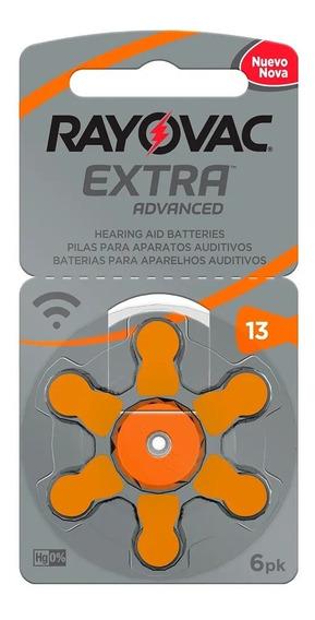 Bateria Pilha Auditiva Rayovac 13 - *cartela Com 6* 849