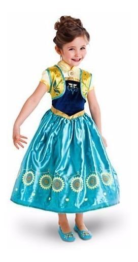 Vestido Fantasia Anna Luxo Importado Brinde!