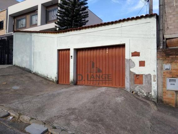 Casa Com 2 Dormitórios Para Alugar, 120 M² Por R$ 1.500,00/mês - Parque Jambeiro - Campinas/sp - Ca13390