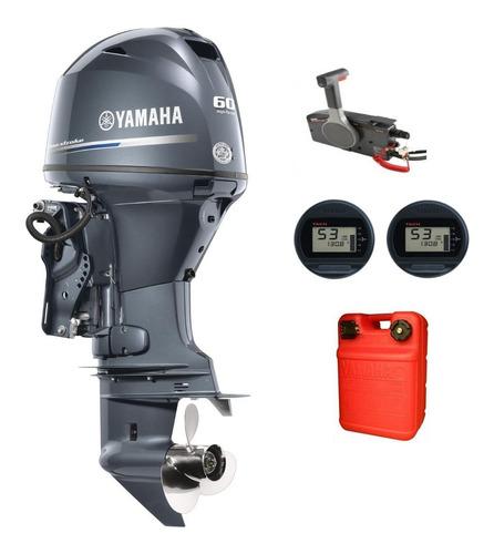 Imagen 1 de 4 de Motor Fuera De Borda Yamaha 60 Hp 4 Tiempos