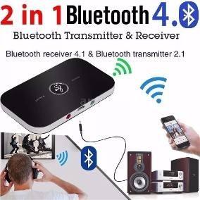 Receptor E Transmissor Bluetooth 2-in-1- 4.1 A2dp Wireless R