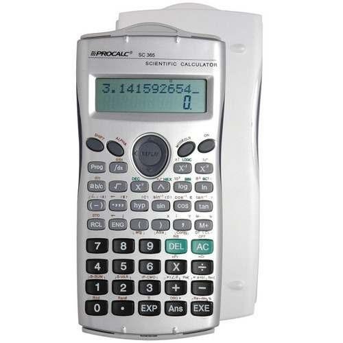 Calculadora Científica Procalc Sc365 Escritório Total