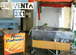 Vendo Carritos O Trailer De Perro C. Y Hamburguesas