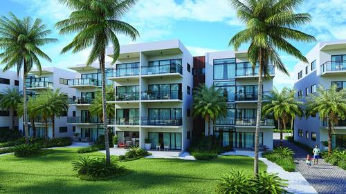Proyecto De Apartamentos En The Beach En Bávaro