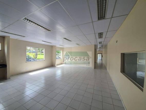 Galpão Para Alugar, 3730 M² Por R$ 66.767,00/mês - Distrito Industrial - Manaus/am - Ga0218