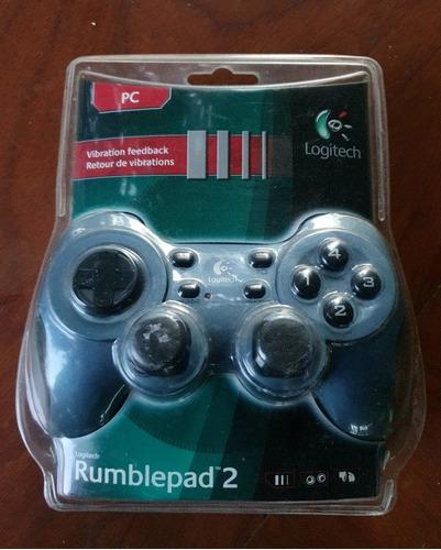 Imagen 1 de 5 de Joystick Logitech Rumblepad 2 Vibration Feedback Nuevo