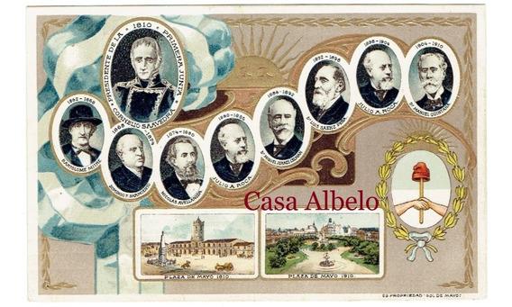 Plaza De Mayo 1810/1910 Sol De Mayo