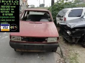 Sucata Fiat Uno (p/ Retirada De Peças).