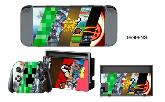 Skin Personalizado Para Nintendo Switch