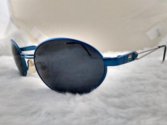 Óculos Sol, Vintage, Metal, Legítimo Benetton F1 7592c3