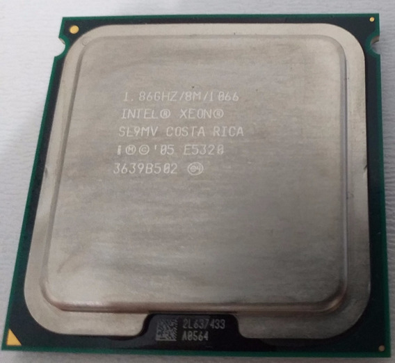 Intel Intel Xeon Quad Core E5320 1.86ghz - Sl9mv