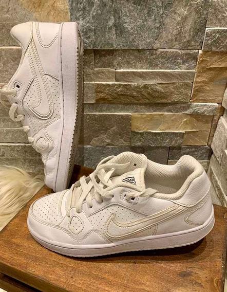 Zapatillas Nike Air Force White Traidas De Usa Casi Nuevas!!
