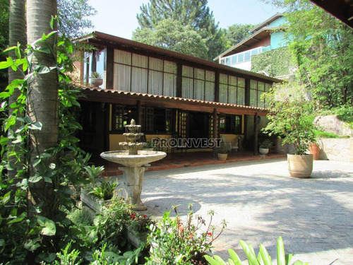 Casa Na Granja Viana Com 390 M² Linda! - Ca16543