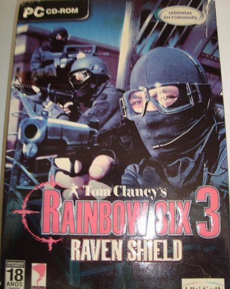 Pc Rainbow Six Raven Shield - Usado - Original