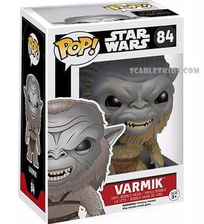Funko Pop! Star Wars Varmik 84 Original Funko Scarlet Kids