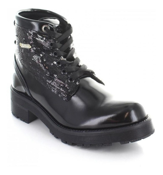 Botin Para Mujer Pepe Jeans 87601-049918 Color Negro