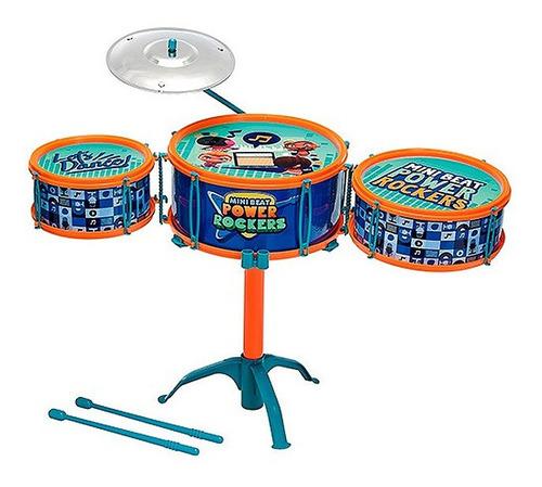 Bateria Infantil Power Rockers Fun Brinquedos