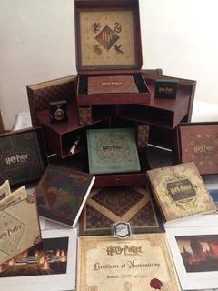 Colección Harry Potter Wizard (combo Blu-ray / Dvd)
